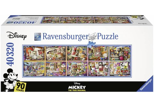 Puzzle of 40.000 pieces: Mickey Mouse