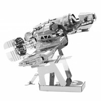 thumb-Star Wars - Resistance Ski Speeder  -3D puzzel-2