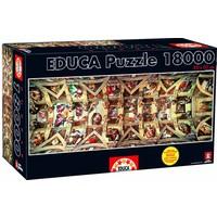 thumb-Sixtijnse Kapel -  puzzel van 18000 stukjes-2