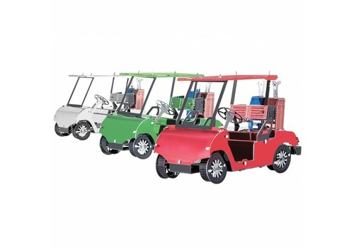 Metal Earth Golf Cart - set of 3 - 3D puzzel