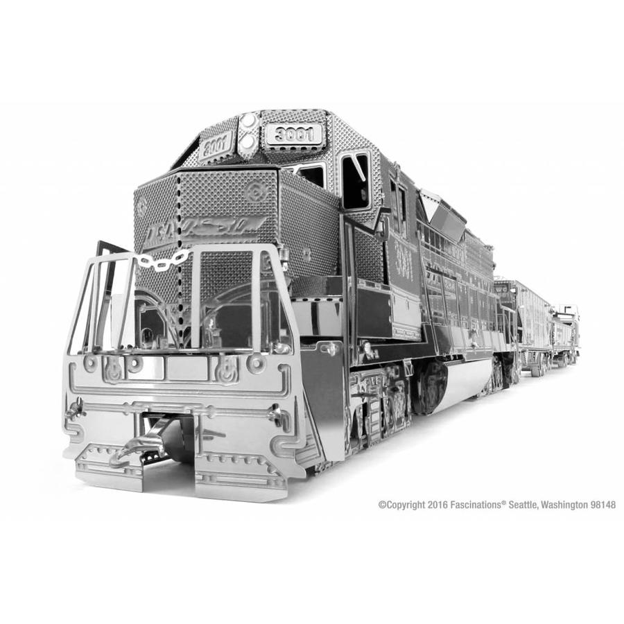 Freight train - Gift Box - 3D puzzle-4