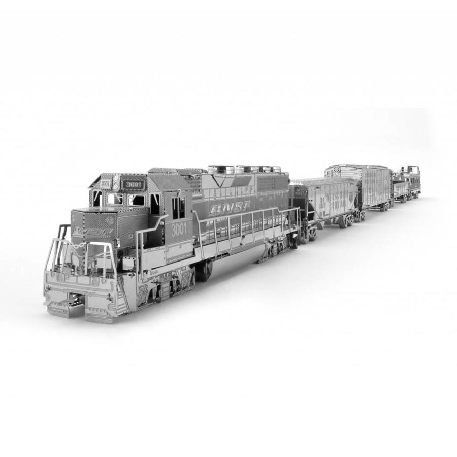 Freight train - Gift Box - 3D puzzle-2