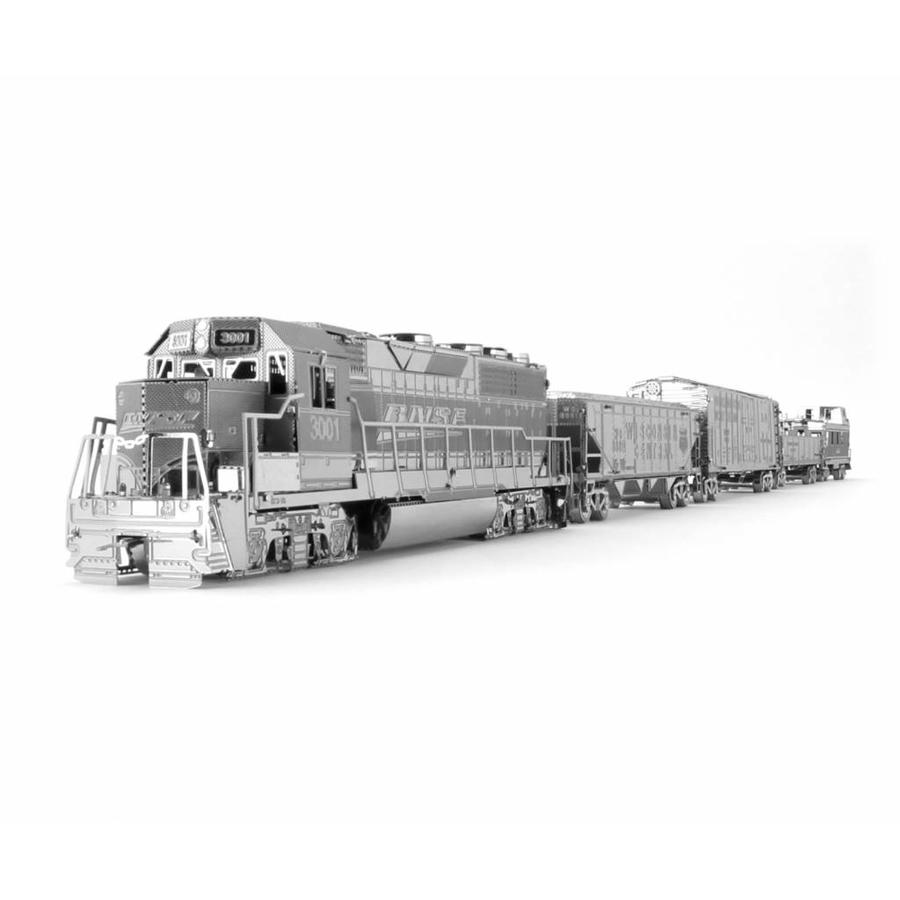 Freight train - Gift Box - 3D puzzle-3