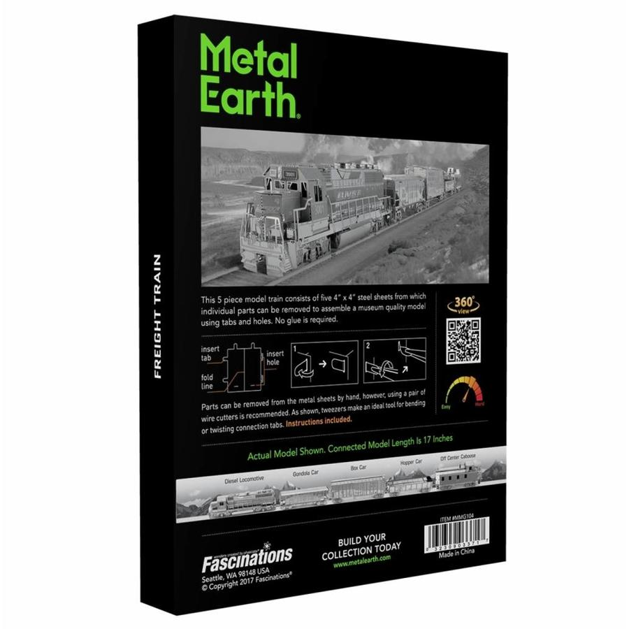 Freight train - Gift Box - 3D puzzle-5