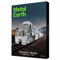 thumb-Freight train - Gift Box - 3D puzzle-1