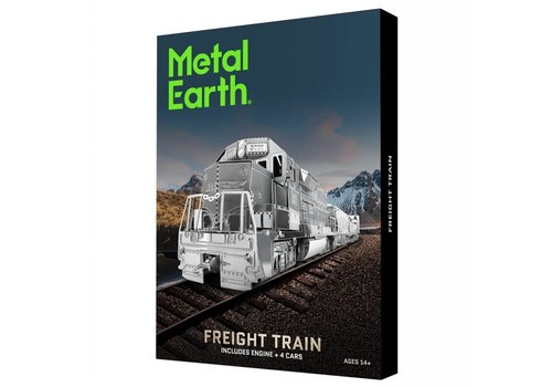 Metal Earth Goederentrein - Gift Box - 3D puzzel
