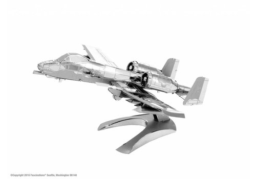 Metal Earth A-10 Warthog - puzzle 3D
