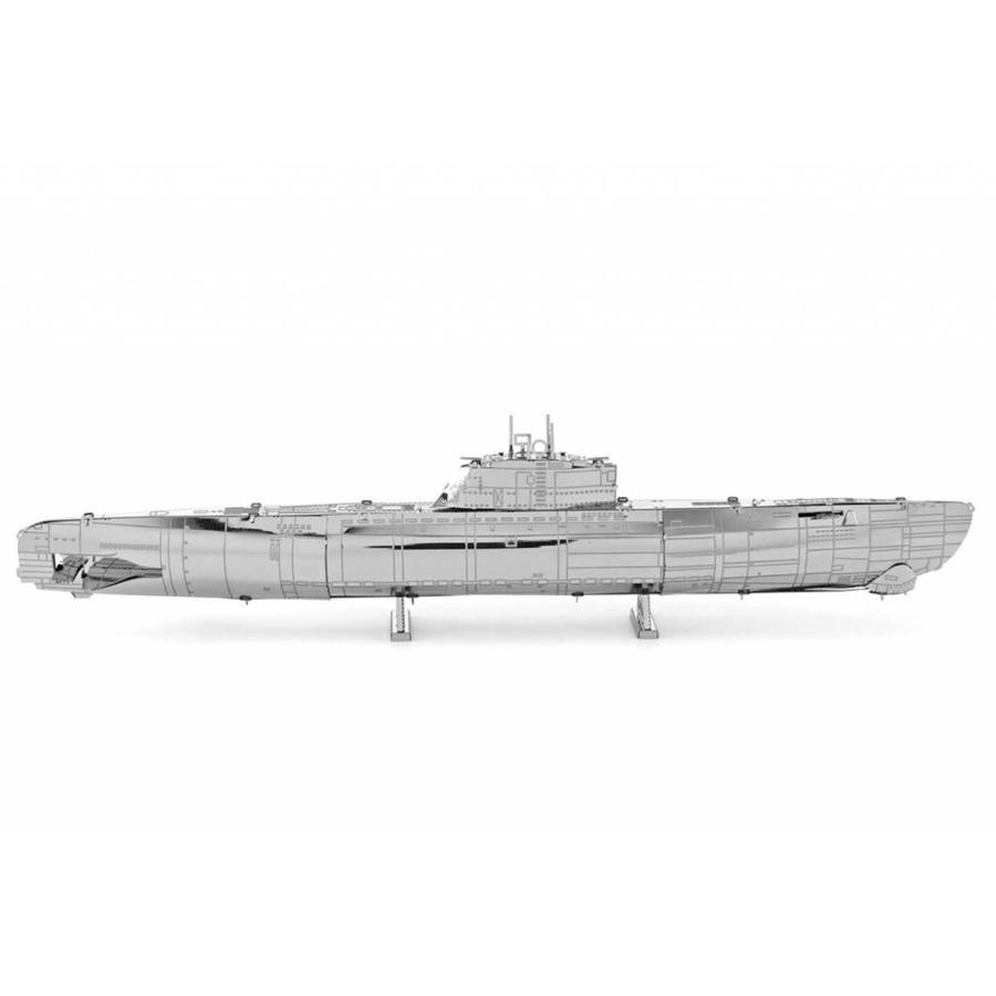 U-boat type XXI - 3D puzzle-4