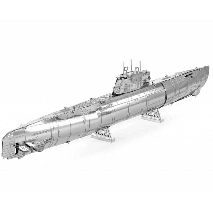 U-boat type XXI - 3D puzzle-5