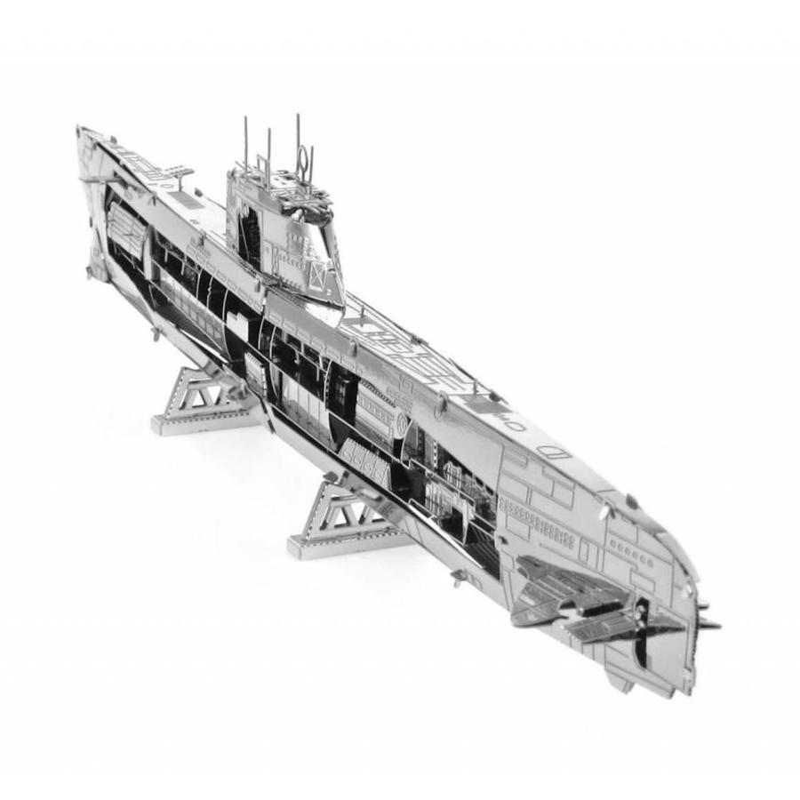U-boat type XXI - 3D puzzle-6