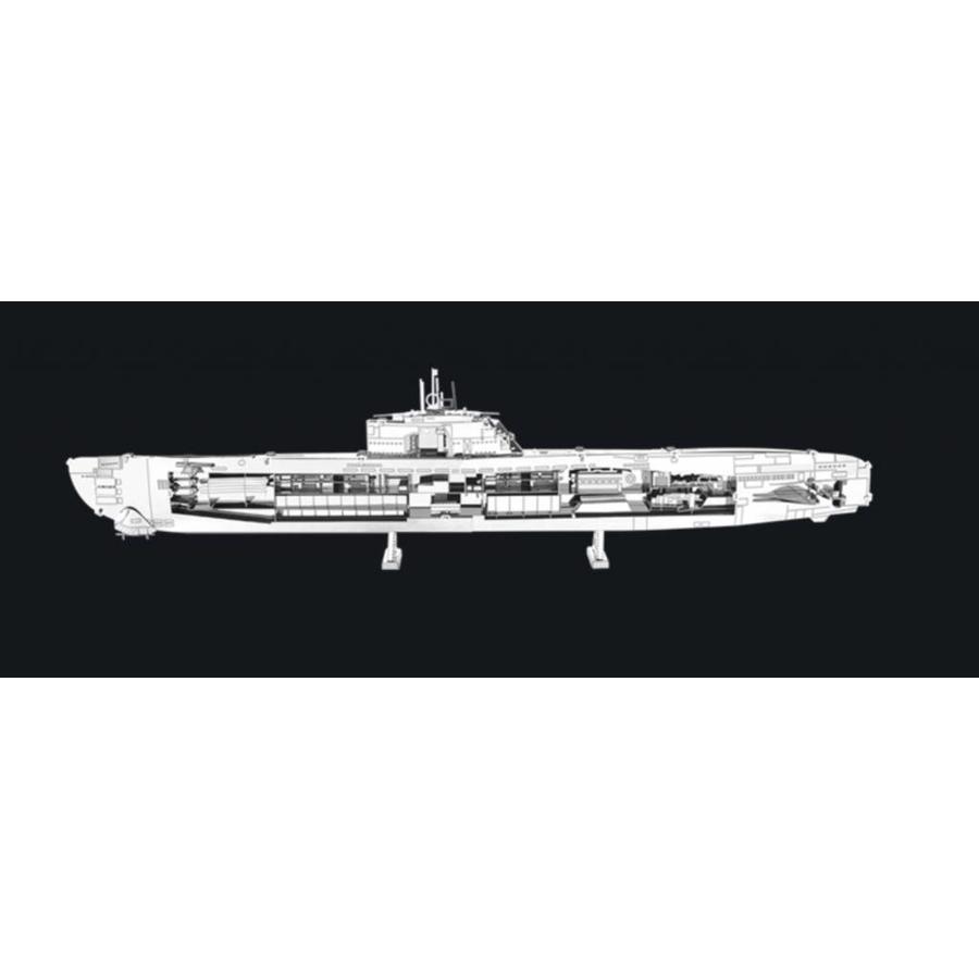 U-boat type XXI - 3D puzzle-1