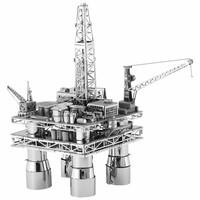 thumb-Booreiland en olietanker - Gift Box - 3D puzzel-4