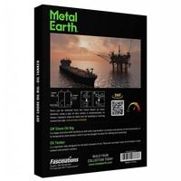 thumb-Booreiland en olietanker - Gift Box - 3D puzzel-2