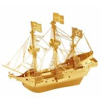 Gouden Driemaster Golden Hind - 3D puzzel