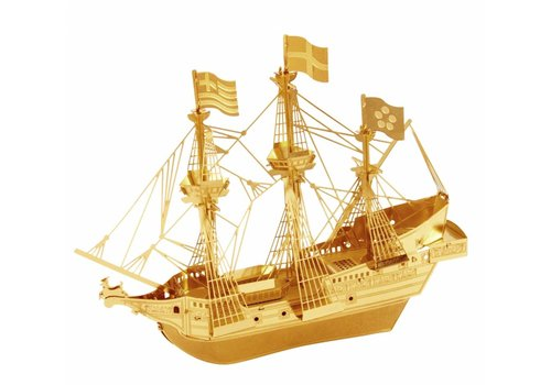 Golden Hind Gold - 3D puzzle