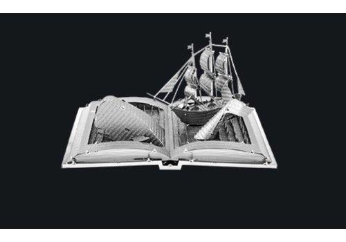 Moby Dick Boeksculptuur - 3D puzzel