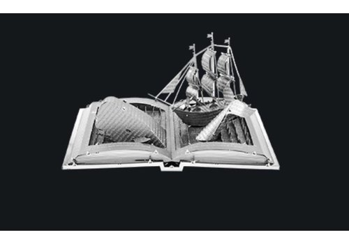 Moby Dick Book Sculpture - 3D puzzle
