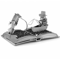 thumb-De oude man en de zee Boeksculptuur - 3D puzzel-6