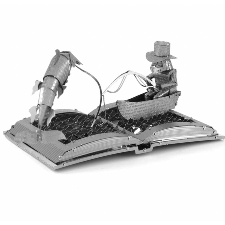 De oude man en de zee Boeksculptuur - 3D puzzel-6