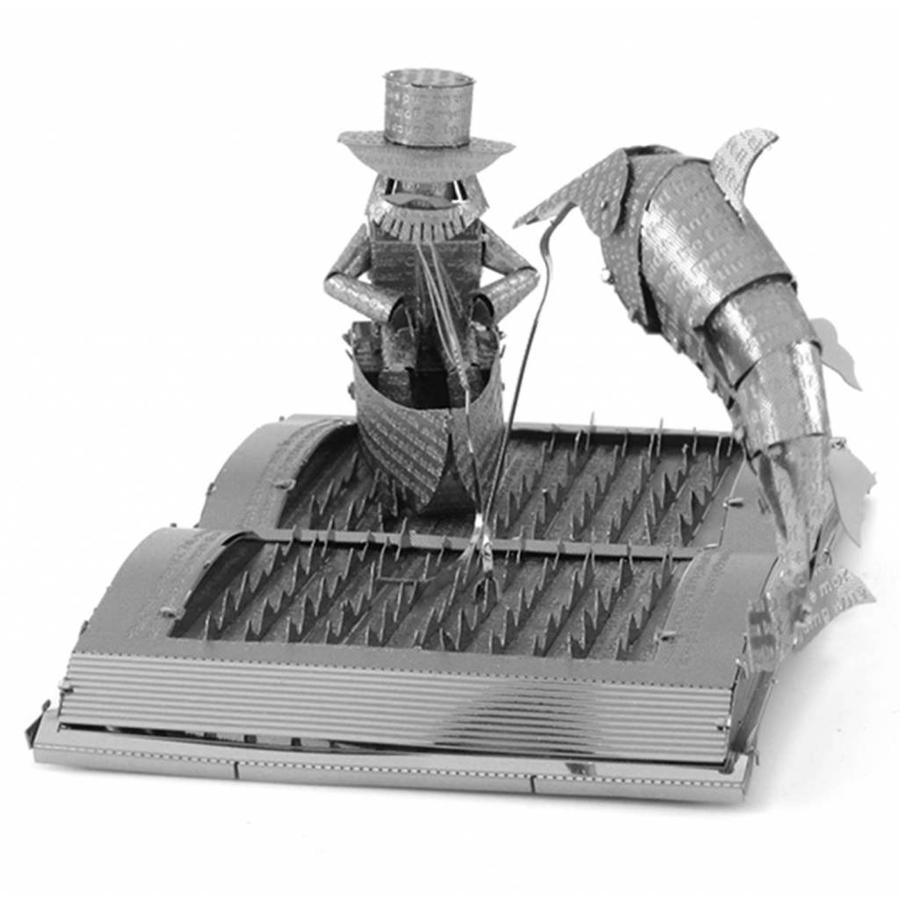 De oude man en de zee Boeksculptuur - 3D puzzel-5