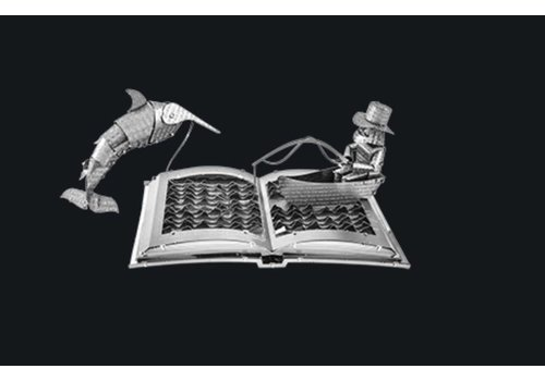 The old man and the sea Book Sculpture - 3D puzzle