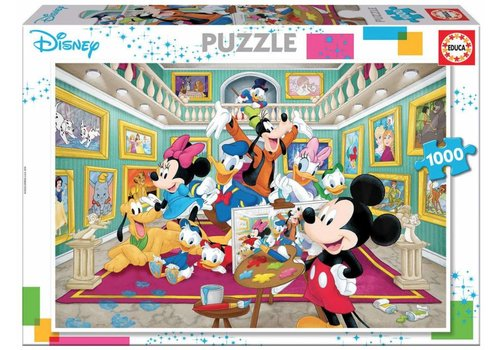 Mickey Mouse art gallery - 1000 pieces