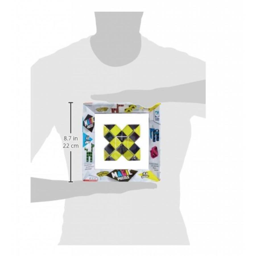 Magic Puzzle 3D Geel - 48 onderdelen-4