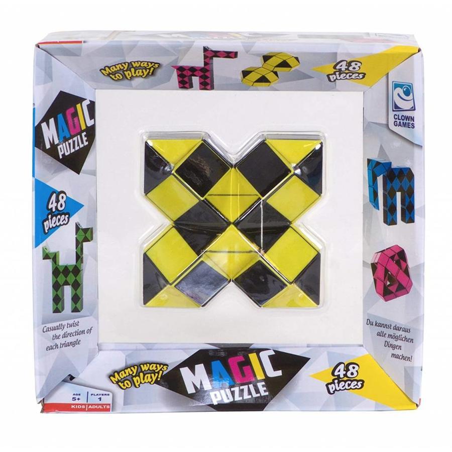 Magic Puzzle 3D Geel - 48 onderdelen-5