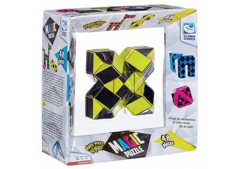 Clown Games Magic Puzzle 3D Jaune - 48 éléments