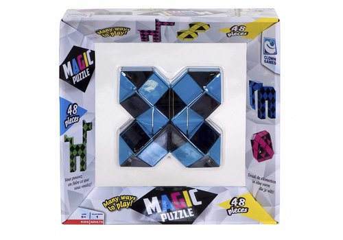 Magic Puzzle 3D Bleu - 48 éléments
