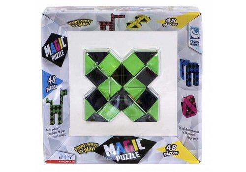 Magic Puzzle 3D Groen  - 48 onderdelen