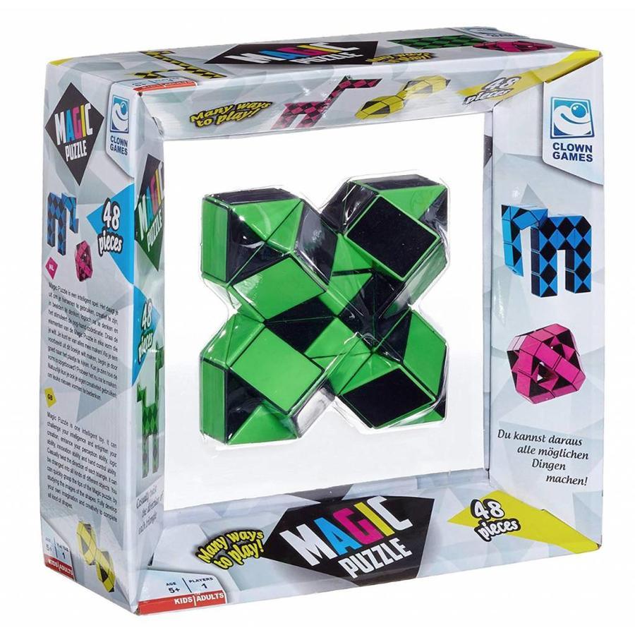 Magic Puzzle 3D Groen - 48 onderdelen-4