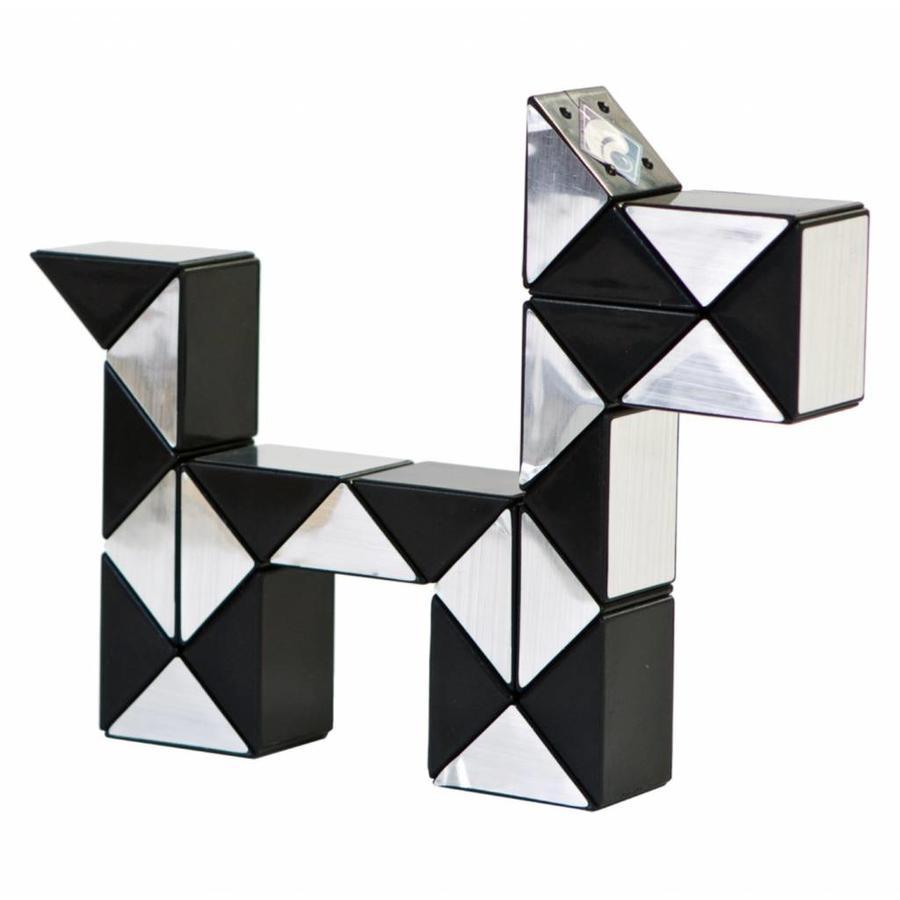 Magic Puzzle 3D Argent - 24 éléments-1