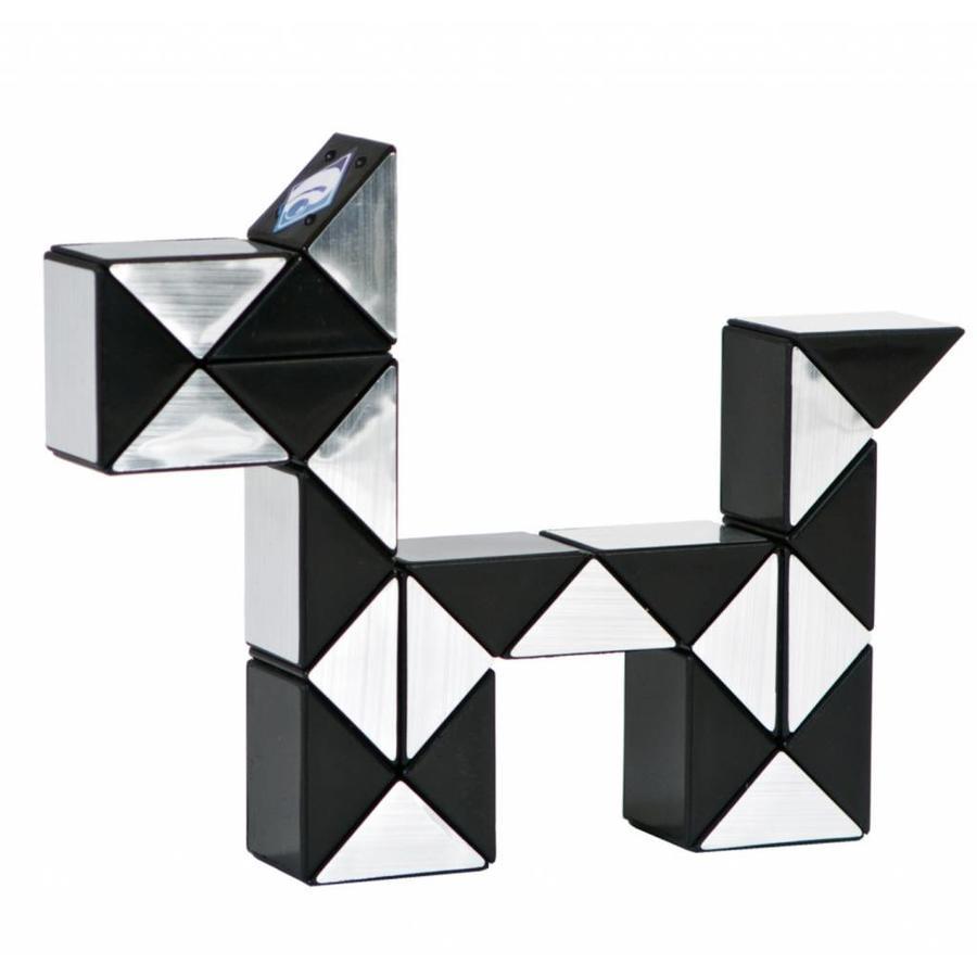 Magic Puzzle 3D Argent - 24 éléments-3