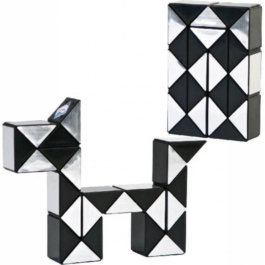 Magic Puzzle 3D Argent - 24 éléments-4