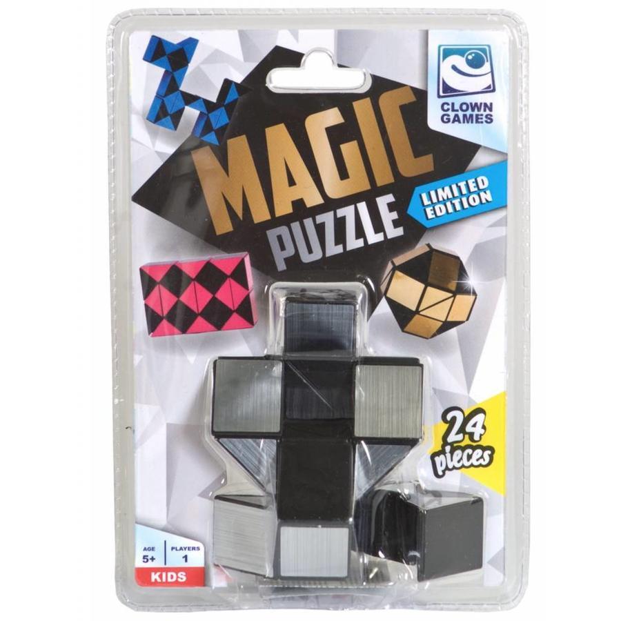 Magic Puzzle 3D Argent - 24 éléments-2