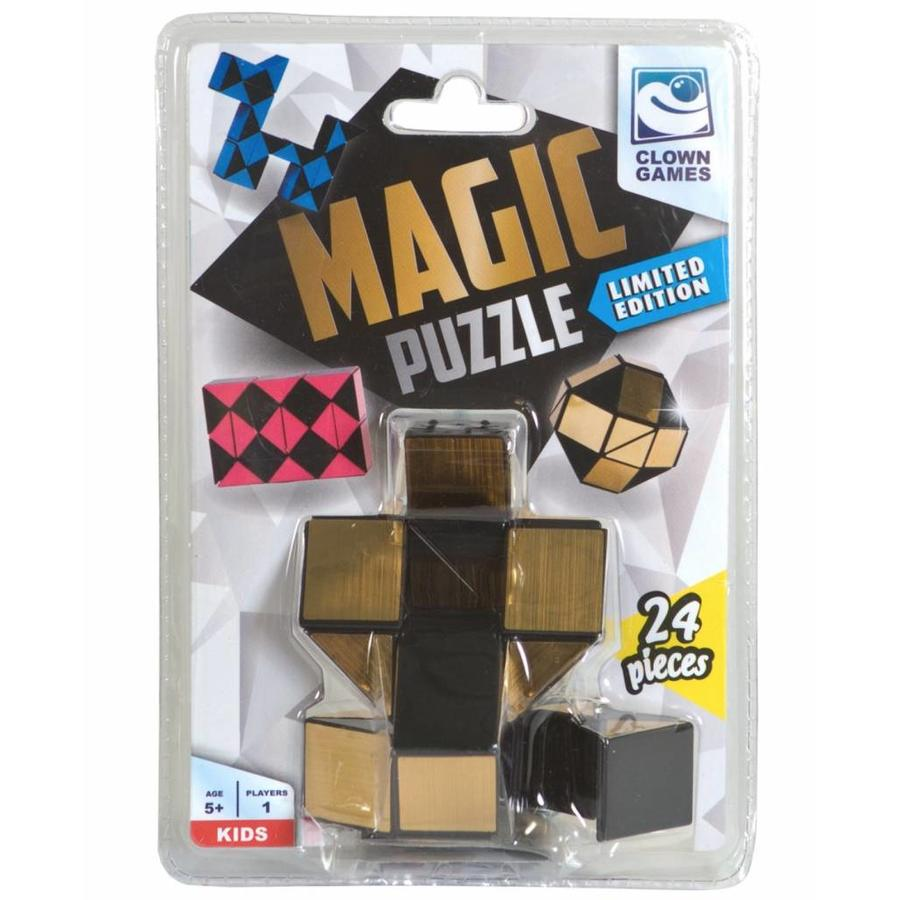 Magic Puzzle 3D Goud - 24 onderdelen-2