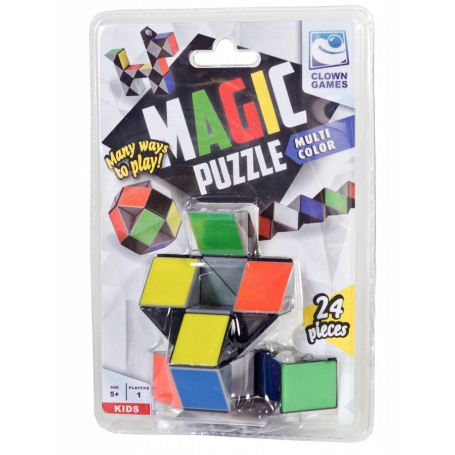 Magic Puzzle 3D Multi colour - 24 onderdelen-2