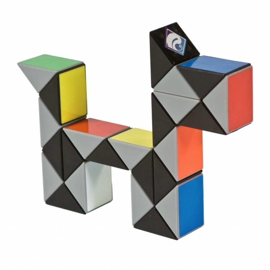 Magic Puzzle 3D Multi colour - 24 onderdelen-1