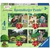 Ravensburger Onderweg in het Sprookjesbos - 12+16 +20 +24 stukjes