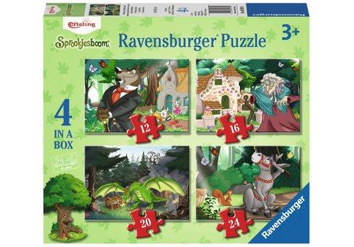 Ravensburger Sprookjesbos -Efteling - 12+16 +20 +24 stukjes