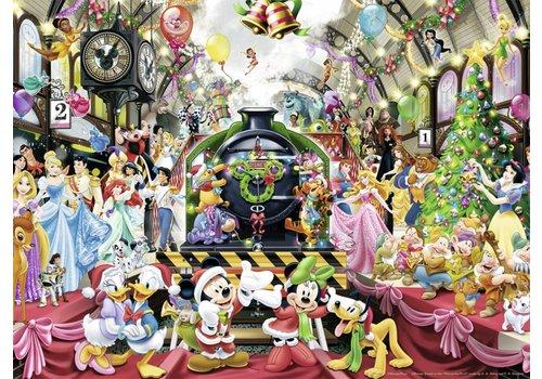 De Disney Kersttrein - 500 stukjes