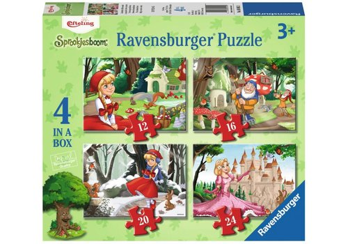 Ravensburger Efteling Little Red Riding Hood - 12+16 +20 +24 pieces