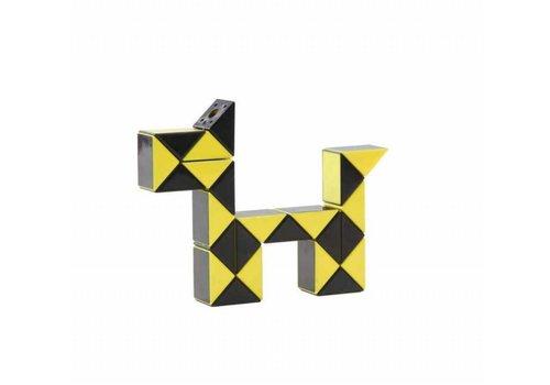Magic Puzzle 3D jaune - 24 éléments