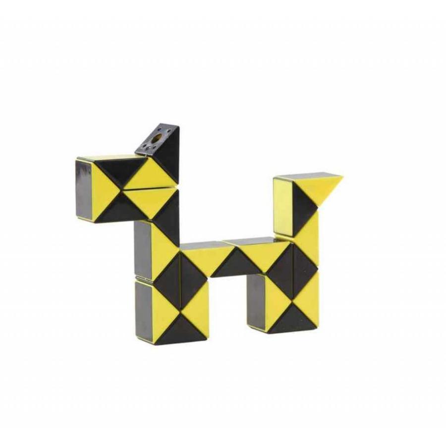 Magic Puzzle 3D Geel - 24 onderdelen-1