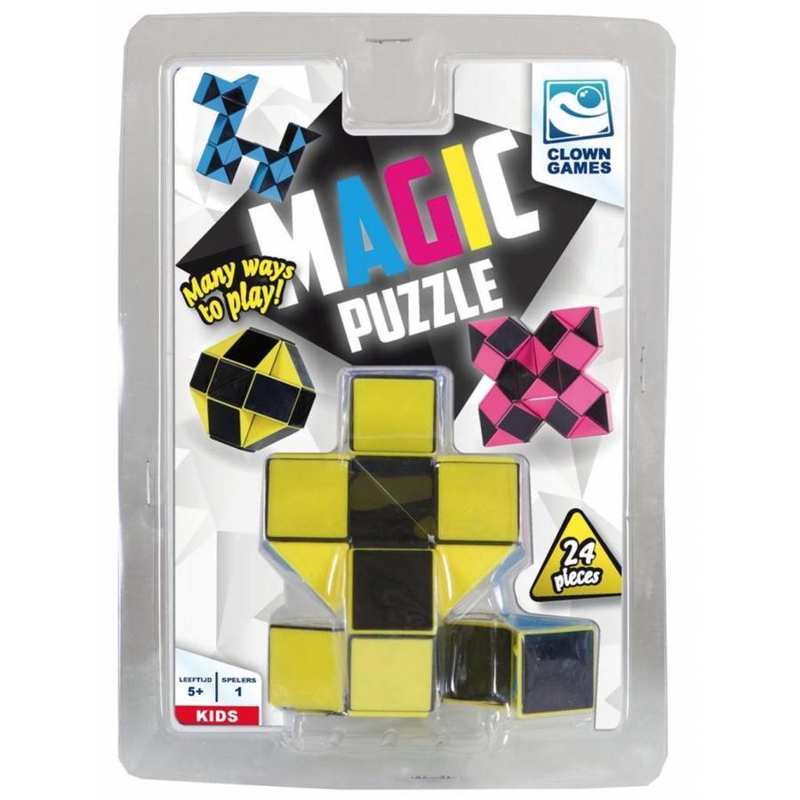 Magic Puzzle 3D Geel - 24 onderdelen-2