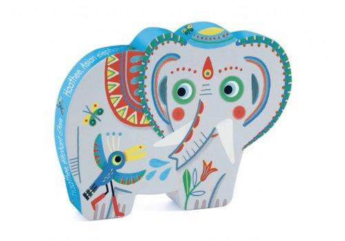 De Aziatische olifant - 24 stukjes