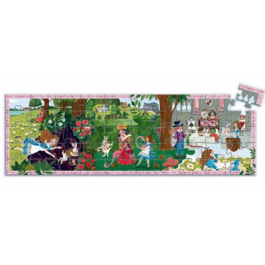 Alice aux pays des merveilles - 50 pièces-2