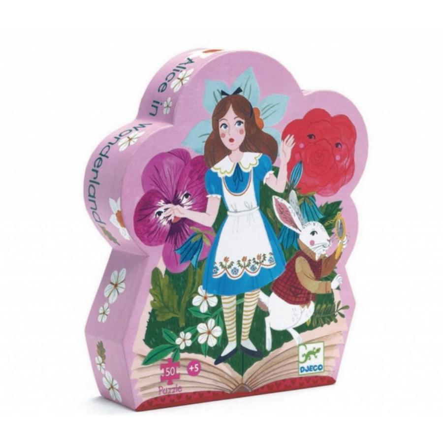 Alice aux pays des merveilles - 50 pièces-1