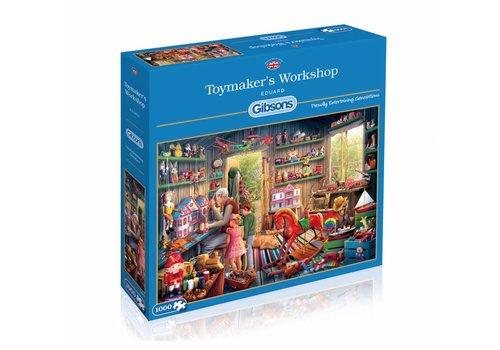 De werkplaats van de speelgoedmaker - 1000 stukjes